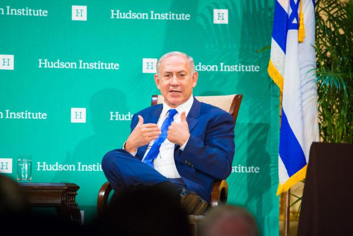 Netanyahu: Mounting TV charm offensive. (Hudson Institute)