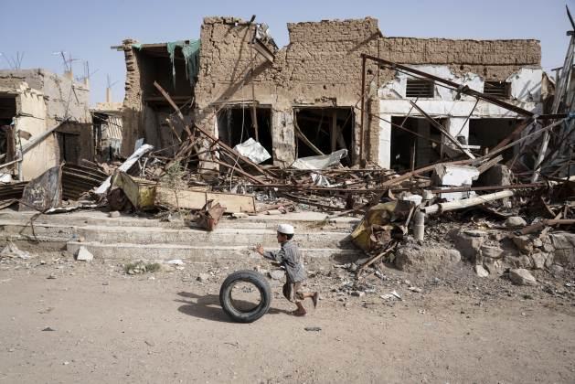 Saada City, Yemen, April 23, 2017. (Giles Clarke/OCHA)